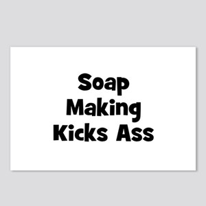 Soap Making Kicks Ass Postcards (Package of 8)