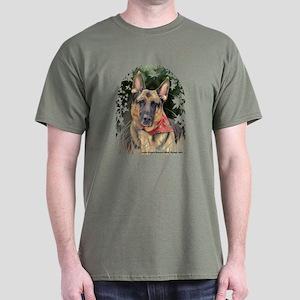 """German Shepherd """"Ripkin"""" Dark T"""
