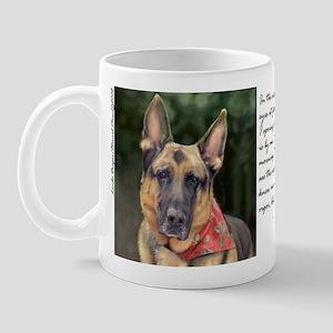 "German Shepherd ""Ripkin"" Mug"