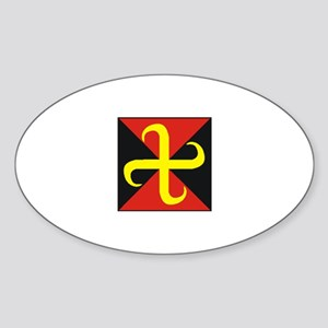 House Sigurgata Sticker (Oval)