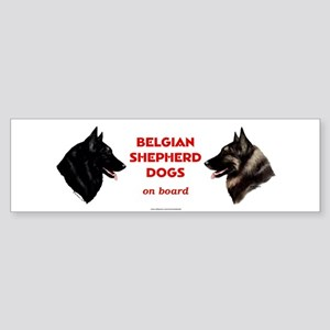 Belgian Shepherd Dog Sticker (Bumper)