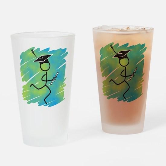 Graduate Runner Drinking Glass