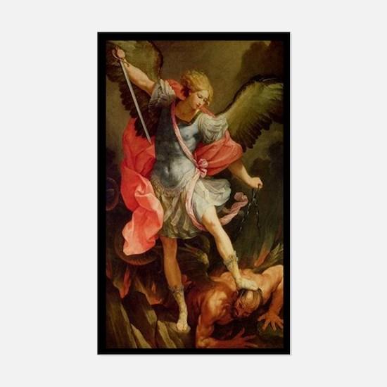 Archangel Michael Sticker (Rectangle)