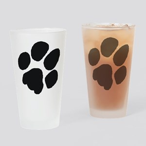 Pawprint Drinking Glass