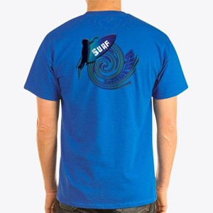 Surf California Dark T-Shirt