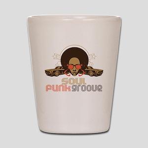 Soul Funk Groove Shot Glass