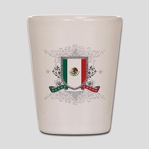 Mexico Shield Shot Glass
