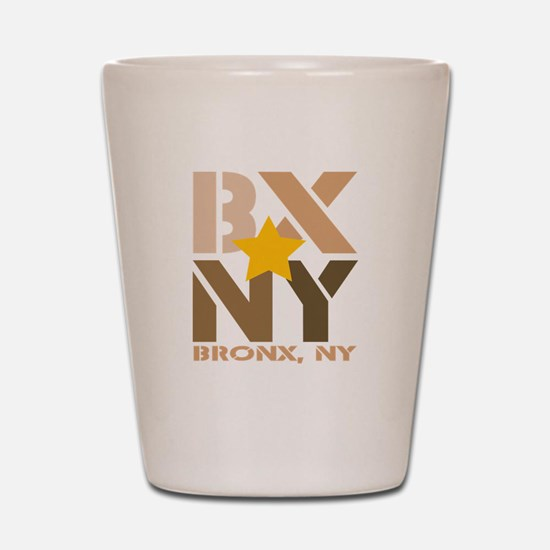 BX, Bronx Brown Shot Glass