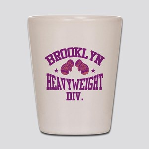 Brooklyn Heavyweight Purple Shot Glass