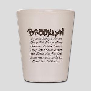 Brooklyn Hoods Shot Glass