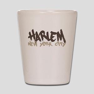 Harlem Painted Shot Glass