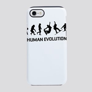 Human Evolution T Shirt, Peopl iPhone 7 Tough Case