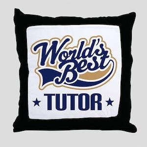 Tutor Gift Throw Pillow