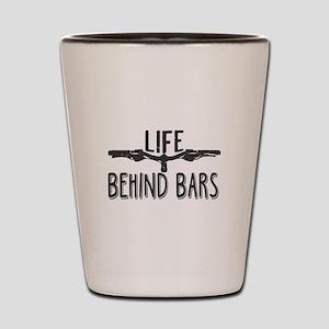 Life Behind Bars T Shirt, Cycle T Shirt Shot Glass