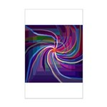 Perceptual Spiral Mini Poster Print