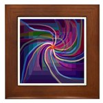 Perceptual Spiral Framed Tile