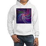 Perceptual Spiral Hooded Sweatshirt