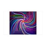 Perceptual Spiral 38.5 x 24.5 Wall Peel