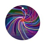Perceptual Spiral Ornament (Round)
