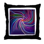 Perceptual Spiral Throw Pillow