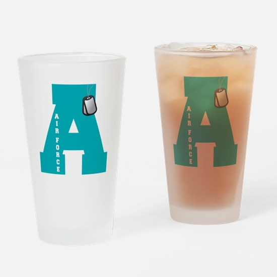 A - Air Force Drinking Glass
