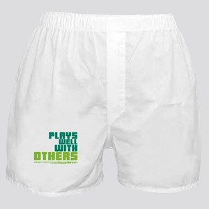 Flute Plays Well Boxer Shorts