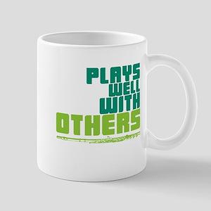 Flute Plays Well Mug