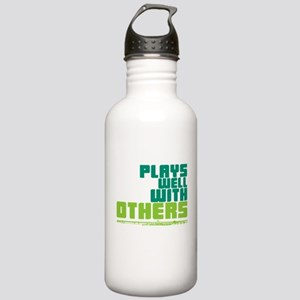 Flute Plays Well Stainless Water Bottle 1.0L