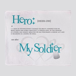 Hero Throw Blanket