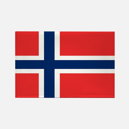 Flag of Norway Rectangle Magnet
