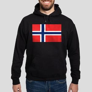 Flag of Norway Hoodie (dark)