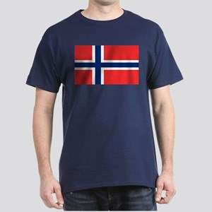 Flag of Norway Dark T-Shirt