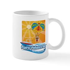 Parasailing in Mexico Mug