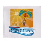 Parasailing in Mexico Throw Blanket