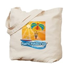 Parasailing in Mexico Tote Bag