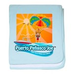 Parasailing in Mexico baby blanket