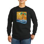 Parasailing in Mexico Long Sleeve Dark T-Shirt