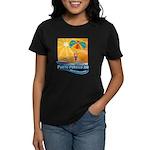 Parasailing in Mexico Women's Dark T-Shirt