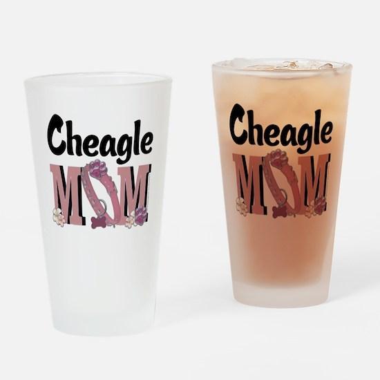 Cheagle MOM Drinking Glass