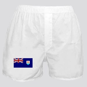 Anguillan Flag Boxer Shorts