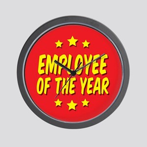Employee of the Year Wall Clock