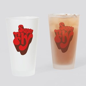 Superfly Drinking Glass