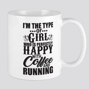 Girl Who Is Perfectly T Shirt, Coffee And Run Mugs