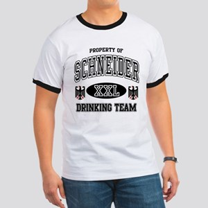 Schneider German Drinking Team Ringer T