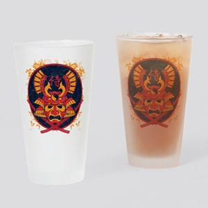 Samurai Stamp Drinking Glass
