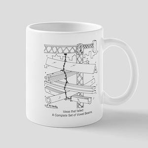 A, E, I, O & U Beams Mug