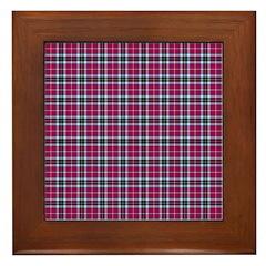 Tartan - MacTavish Framed Tile