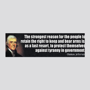 Thomas Jefferson Quote 42x14 Wall Peel