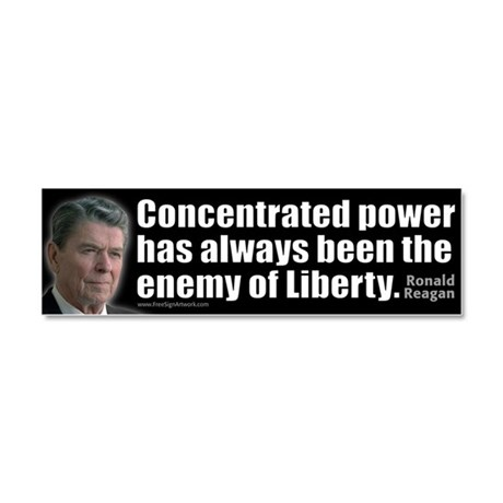 Concentrated Power - REAGAN - Car Magnet 10 x 3