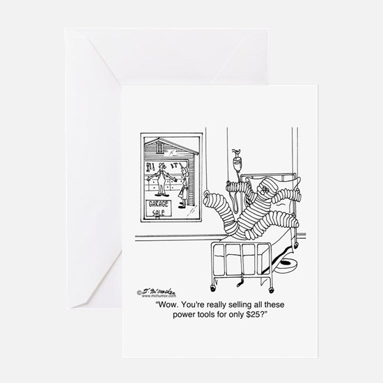 Power Tools for Only $25 Greeting Card